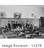 #11278 Picture Of Students In A Class Room