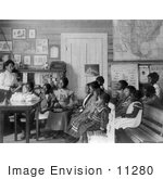 #11280 Picture Of An African American School In 1902