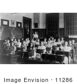 #11286 Picture Of A Classroom Of Children