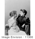 #11300 Picture of Anne Sullivan Seated With Helen Keller by JVPD