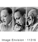 #11316 Picture of Martin Luther King, JR by JVPD