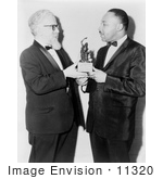 #11320 Picture of Abraham Heschel and Martin Luther King by JVPD