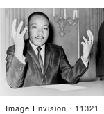 #11321 Picture of Martin Luther King JR by JVPD