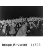 #11325 Picture Of A Kkk Ceremony