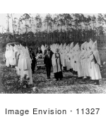 #11327 Picture of a KKK Funeral Ceremony by JVPD