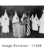 #11328 Picture of a KKK Rite Ceremony by JVPD
