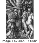 #11332 Picture of the Expulsion of Adam and Eve From Paradise by JVPD