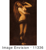 #11336 Picture of Eve Wrapped in a Snake by JVPD