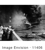 #11406 Picture Of The Uss California And Uss Oklahoma