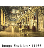 #11466 Picture Of An Art Gallery In The Louvre