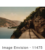 #11475 Picture Of Train Tracks Leading To A Cave