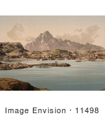 #11498 Picture Of Vaagakallen Kabelvaag Norway
