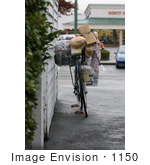 #1150 Picture of a Homeless Persons Bike by Kenny Adams