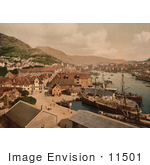 #11501 Picture Of Bergen Norway