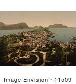 #11509 Picture Of Aalesund Norway
