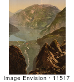 #11517 Picture Of Merok Geiranger Fjord Norway