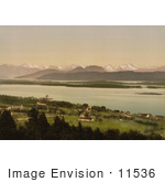 #11536 Picture Of Molde Norway Mountains In The Background