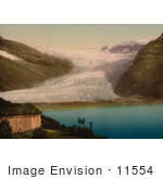 #11554 Picture Of A Glacier In Svartisen Nordland Norway