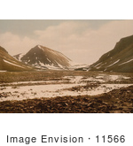 #11566 Picture Of Tverdalen At Advent Bay Spitzbergen Norway