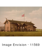 #11569 Picture Of A Hotel Or Tourist House In Spitzbergen Norway
