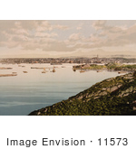 #11573 Picture Of Ships And Waterfront Village Bodo Nordland Norway