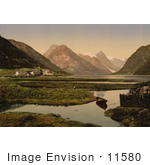 #11580 Picture Of Mundal Fjaerland Sognefjord Norway
