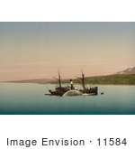 #11584 Picture Of A Whaling Ship In Norway