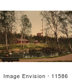 #11586 Picture Of Skansen Stockholm Sweden