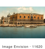 #11620 Picture Of Doges' Palace Venice