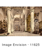 #11625 Picture Of The Interior Of St John And St Paul'S Venice Italy