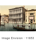 #11653 Picture Of Rezzonico Palace Venice Italy