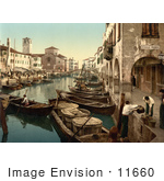 #11660 Picture Of Chioggia Fish Market Venice Italy