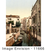 #11666 Picture Of Three Bridges Venice Italy