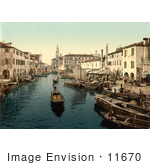 #11670 Picture Of Chioggia Fish Market Venice Italy