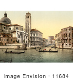 #11684 Picture Of San Geremia Church Venice Italy
