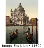 #11695 Picture Of A Church Of Salute Venice Italy