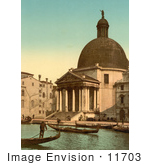 #11703 Picture Of San Simeone Piccolo Venice Italy