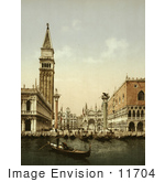 #11704 Picture Of St Mark'S Place Venice Italy
