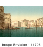 #11706 Picture Of The Grand Canal Venice Italy