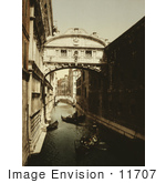 #11707 Picture Of The Bridge Of Sighs