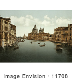 #11708 Picture Of The Grand Canal Venice Italy