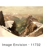 #11732 Picture Of Titlis Mountain In The Swiss Alps