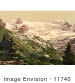 #11740 Picture Of Titlus Mountain In Switzerland