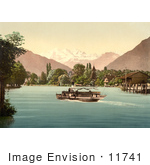 #11741 Picture Of Thunersee Scherzligen Bernese Oberland Switzerland