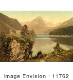 #11762 Picture Of Obersee And Brunnelistock Glarus Switzerland