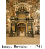 #11764 Picture Of The Chapel At Einsiedeln Abbey Switzerland