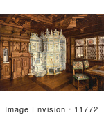 #11772 Picture Of A Giant Oven In A Museum Room Zurich