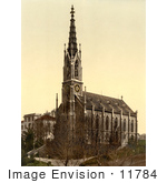 #11784 Picture Of A Church Of Unterstrasse In Zurich Switzerland