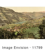 #11799 Picture Of Lungern In Switzerland