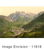 #11818 Picture Of Hospenthal Andermatt Switzerland